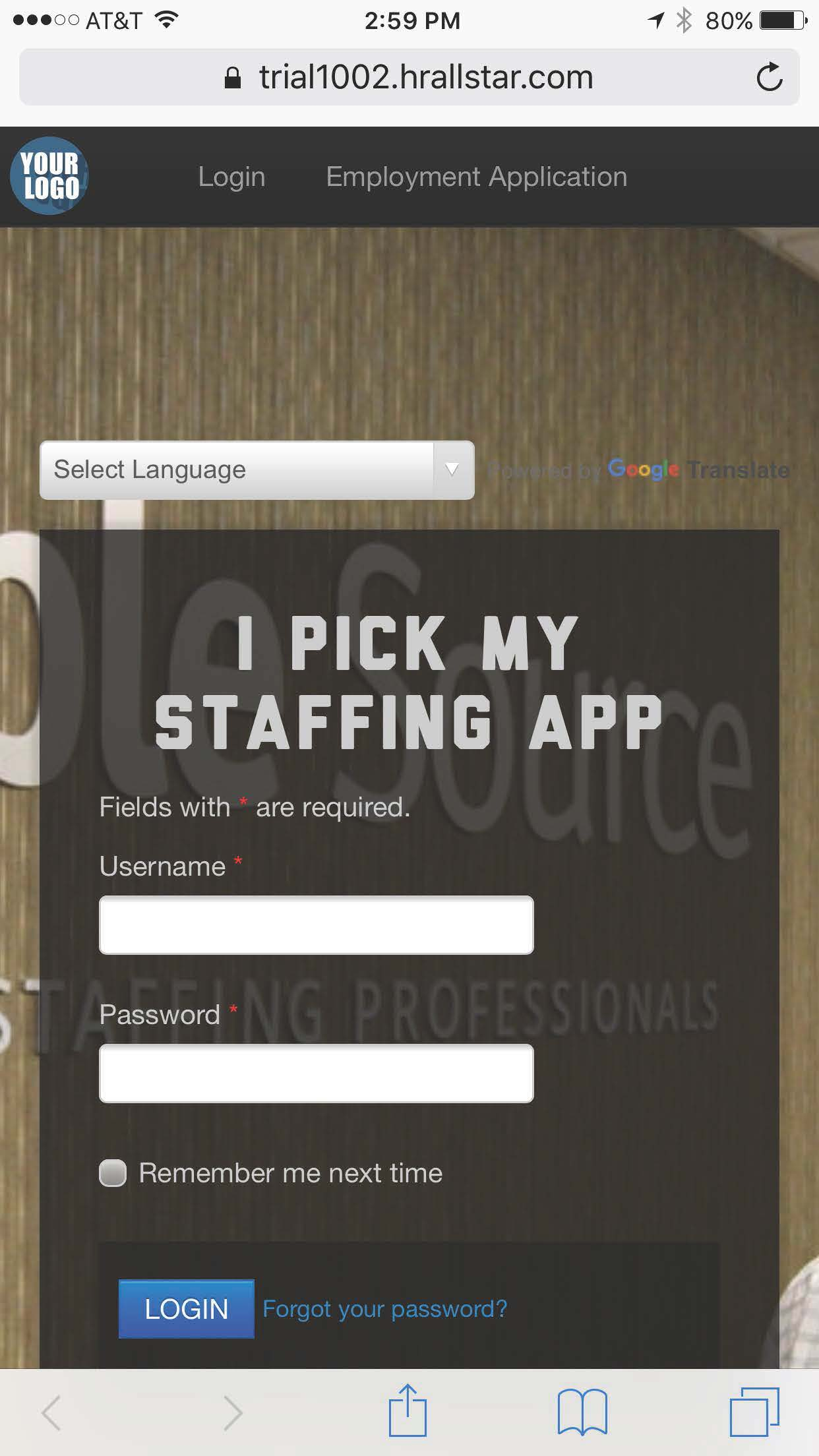 Staffing & Headhunting App